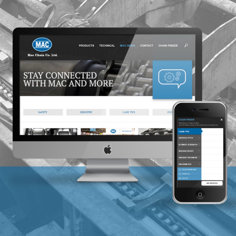 Mac Responsive Site Home Image